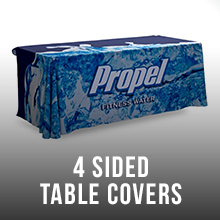 4 Sided Table Covers