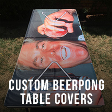Custom Beerpong Covers