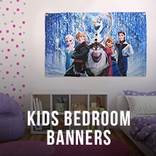 Kids Bedroom Banners
